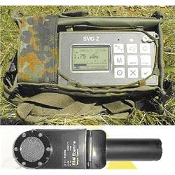 A hand held, battery powered, ruggedised full range radiacmeter to meet the demands of the military